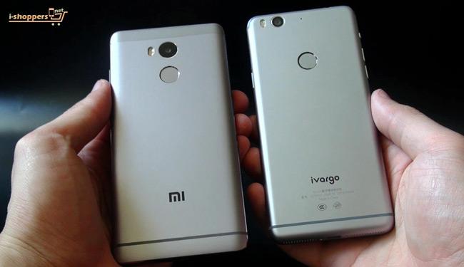 сравнение Ivargo и Xiaomi Redmi 4