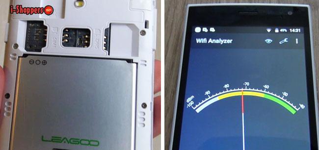 leagoo alfa 5 проверка связи и WiFi