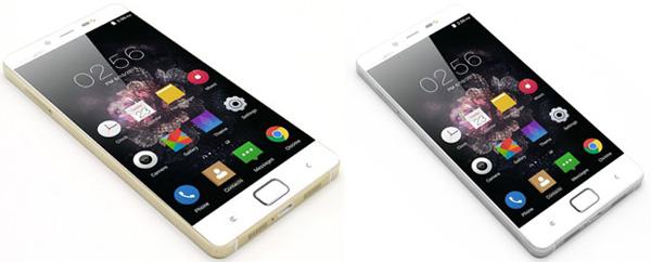 смартфон в белом цвете