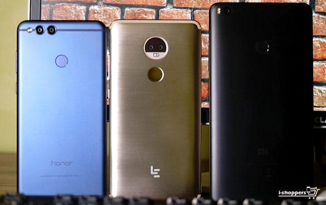leeco Le Max 3 и Xiaomi Mi Max 2