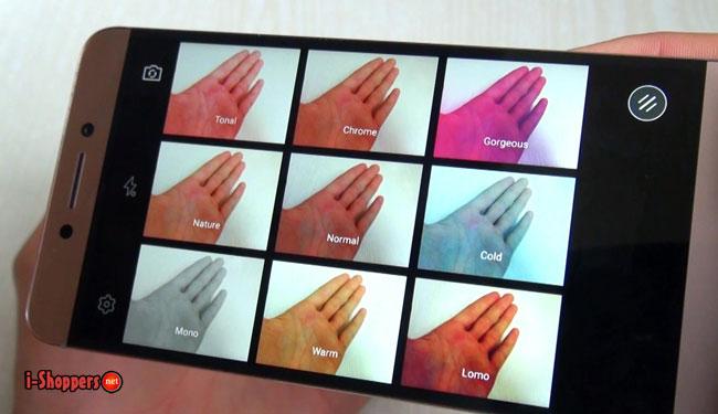 цветовые фильтры в камере