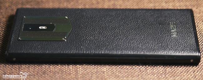 Maze Comet - смартфон с имитацией кожи