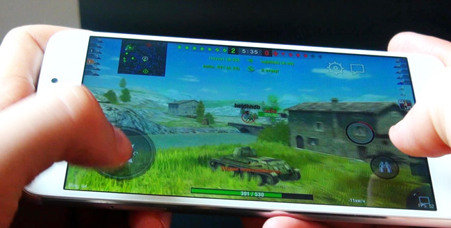 Game Test Meizu M5 Note WOT BLITZ