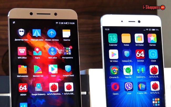 MIUI от Xiaomi и EUI от LeEco
