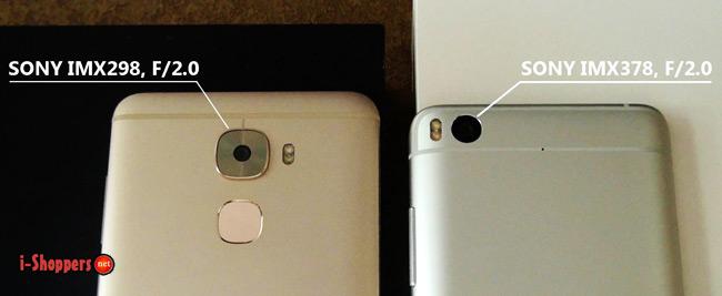 сравнение камер Mi5S и Le Pro 3