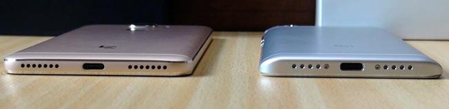 разъемы USB TYPE C и перфорация динамика