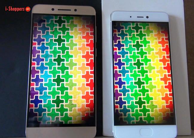 сравнение экранов Xiaomi Mi5S и LeEco Lepro 3