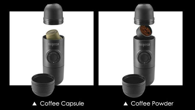 версия для капсул и молотого кофе