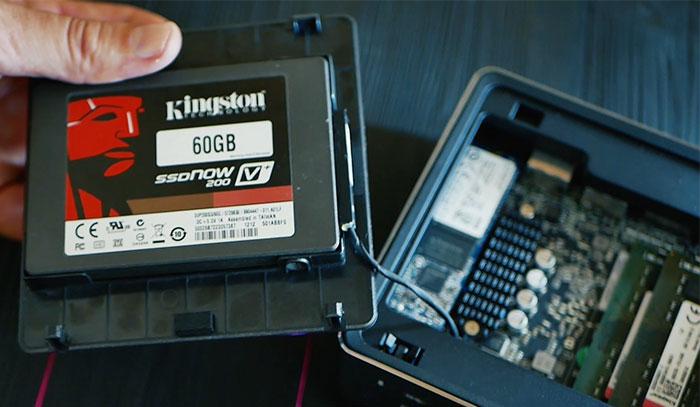 подключение SSD