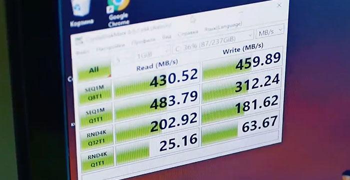 SSD скорость