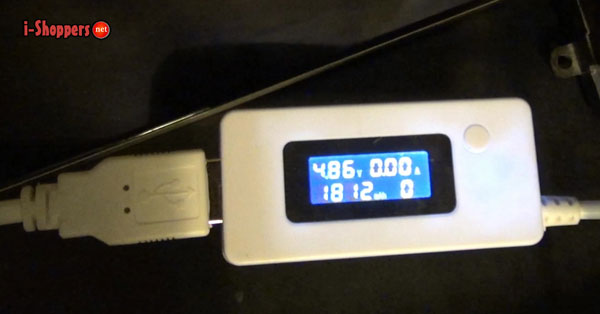 тест аккумуляторной батареи Morefine Max 1