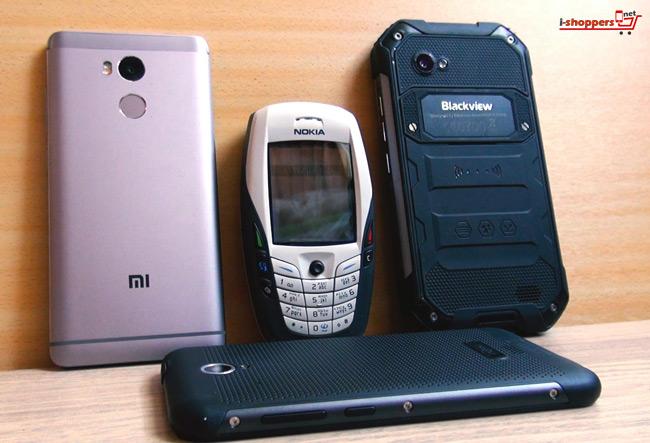 NOKIA 6600 и современные сенсорные смартфоны