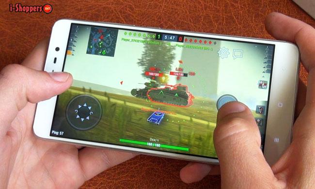 WOT Blitz на Redmi Note 3 Pro