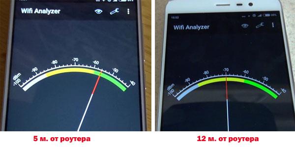 прием сигнала WiFi