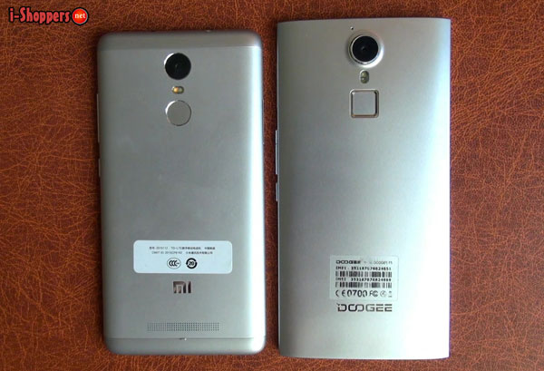 Xiaomi redmi note 3 pro VS Doogee F5