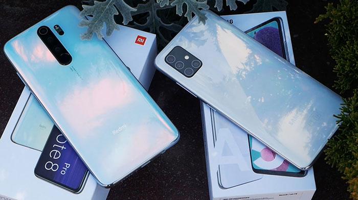 Redmi Note 8 pro VS Galaxy A51