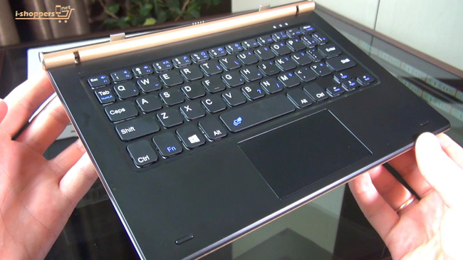 original keyboard review Onda oBook 20 plus