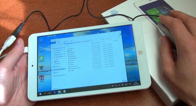 подключение мыши и клавиатуры