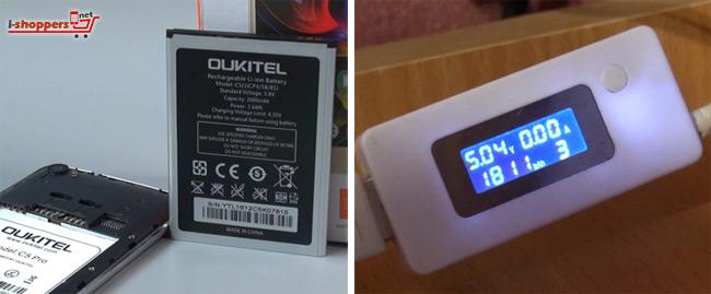 тест аккумулятора Oukitel C5 Pro