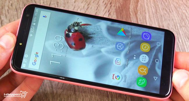 дешевый смартфон с экраном 18:9