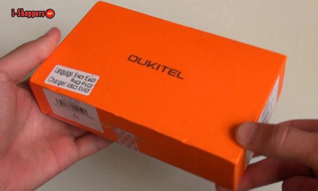 oukitel k4000 вид коробки