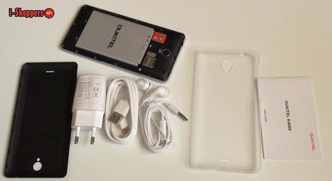 oukitel k4000 комплектация смартфона