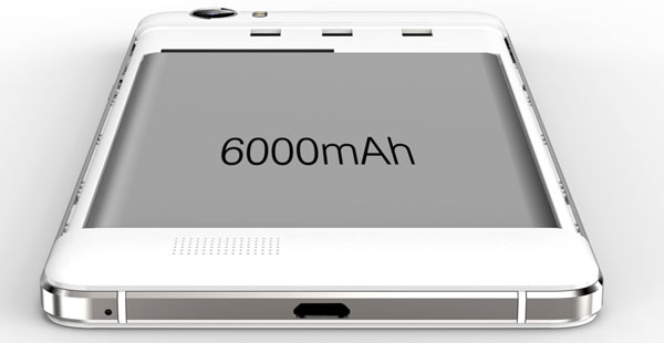 oukitel k6000 с батареей 6000 мАч