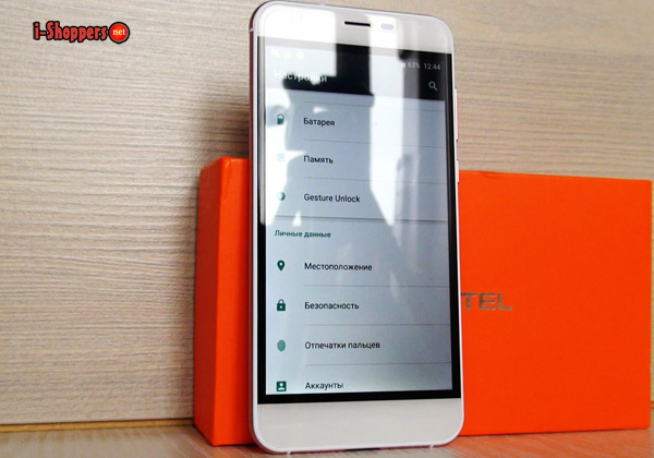 рамки экрана - обзор Oukitel k7000