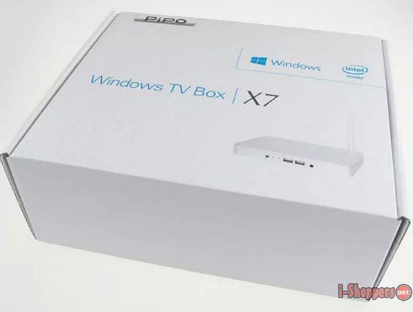 Коробка с мини ПК PIPO X7S