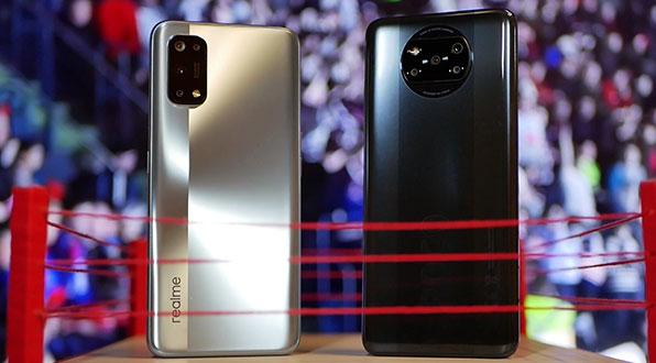 сравнение POCO X3 и Realme 7 Pro