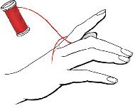 измеряем сами охват (окружность) пальца