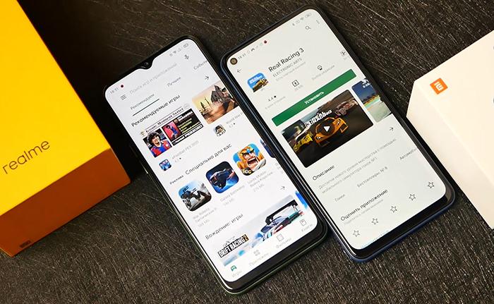 Realme 6i сравнение с Redmi Note 9