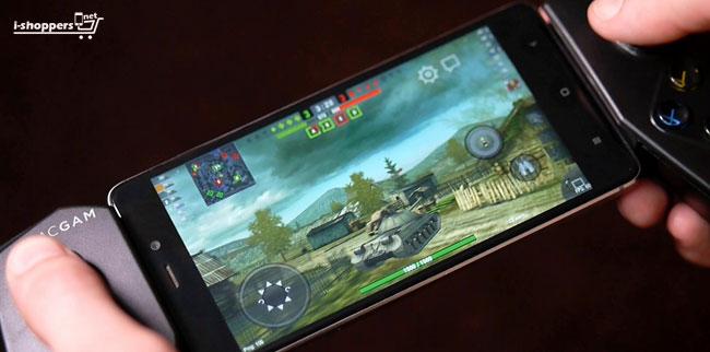 геймпад для WOT BLITZ на смартфоне