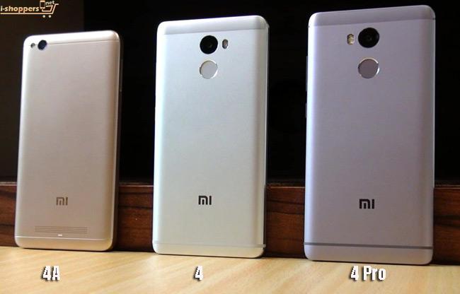 Xiaomi Redmi серия: Redmi 4A, redmi 4 и Redmi 4 pro