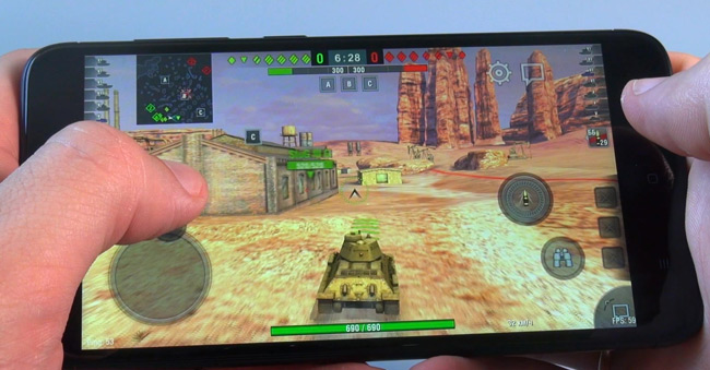 game Test WOT Blitz на redmi 4X
