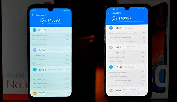 сравнение Exynos 9610 и Snapdragon 660
