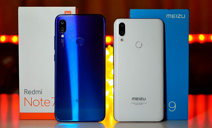 Redmi Note 7 VS meizu Note 9