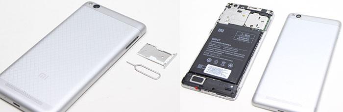 слот для SIM карт Redmi 3