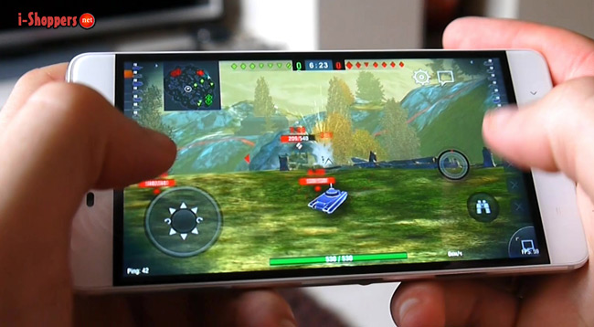 Game Test WOT Blitz на Xiaomi Redmi 4