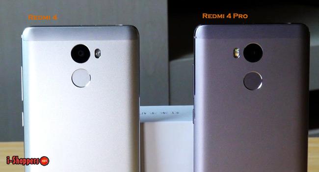 Xiaomi Redmi 4 сравнение с Redmi 4 Pro Prime