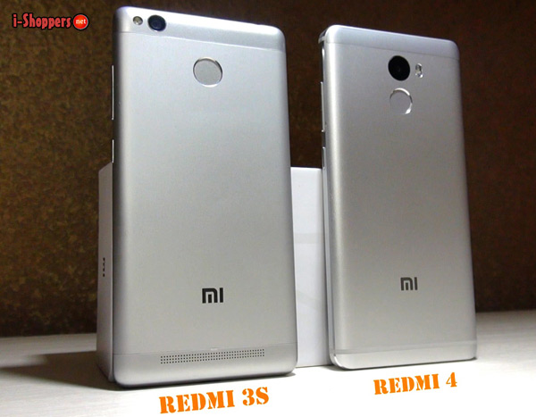 Redmi 4 VS Redmi 3S