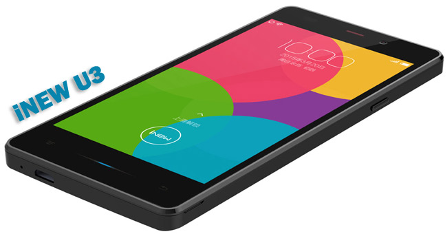 inew U3 компактный смартфон