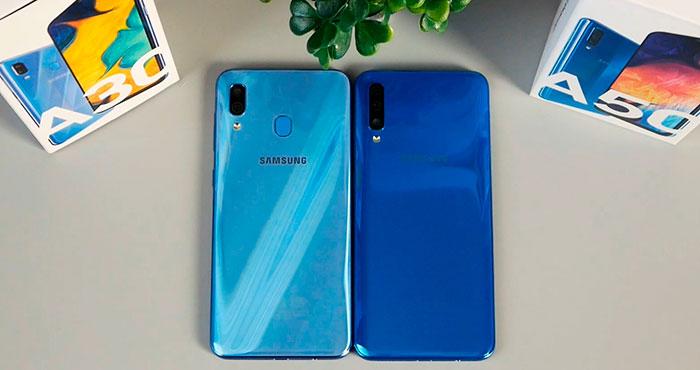 Galaxy a50 и Galaxy A30