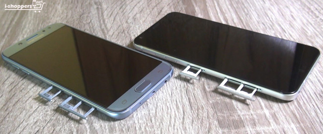 Samsung Galaxy J5 2017 VS LG Q6
