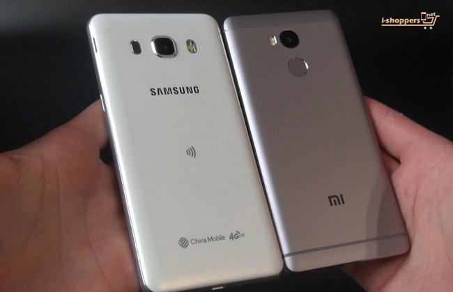 samsung VS Xiaomi сравнение