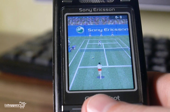 теннис из телефона SE K800i