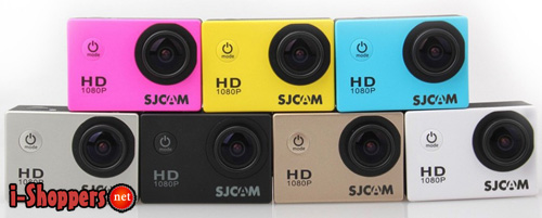 sj4000 в разных цветах корпуса