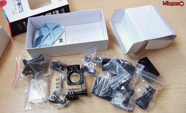 sj5000 Plus комплект поставки