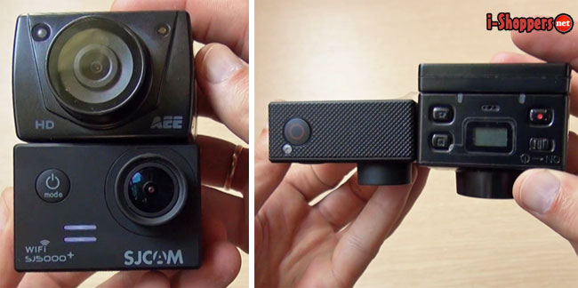 сравнение экшен камер
