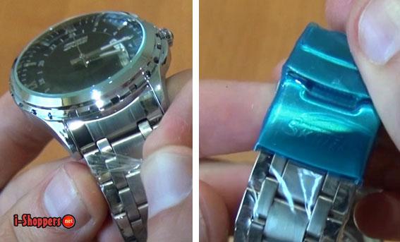 металлический ремешок часов